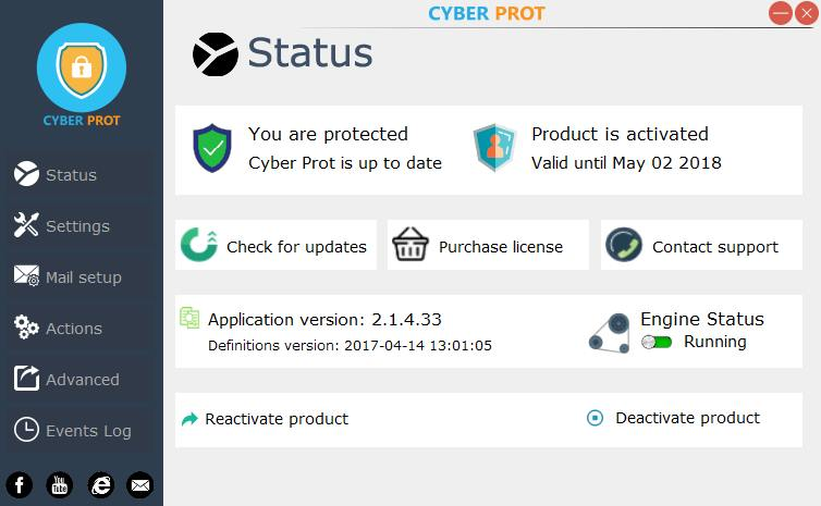 Free download Cyber Prot